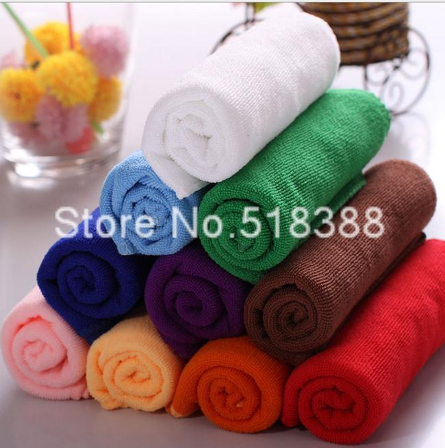 1Soft Fiber Cotton Face Towel Luxury 30*30cm Square Car House Cleaning Wash - HF TECH CAR Store store