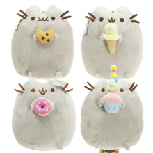 2016 Kawaii Brinquedos New Pusheen Cat Cookie & Icecream & Doughnut 5 Styles Stuffed & Plush Animals Toys for Girls(China (Mainland))