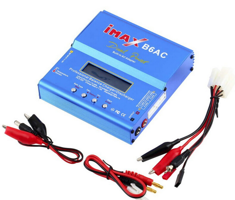 iMax B6AC 80W Digital Lipro Battery Original Balance Charger for RC Model Nimh Battery Balancing Charger YC026-SZ(China (Mainland))