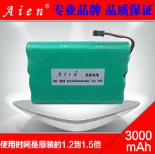 С вилкой SC3000 никель-металлогидридных аккумуляторов 14.4 В 3000 мАч SC ni mh аккумуляторная батарея для развертки сокровище Irobot Roomba бесплатная доставка