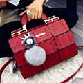 suture Boston bag inclined shoulder ladies hand bag women PU leather handbag sac 2016 woman bags