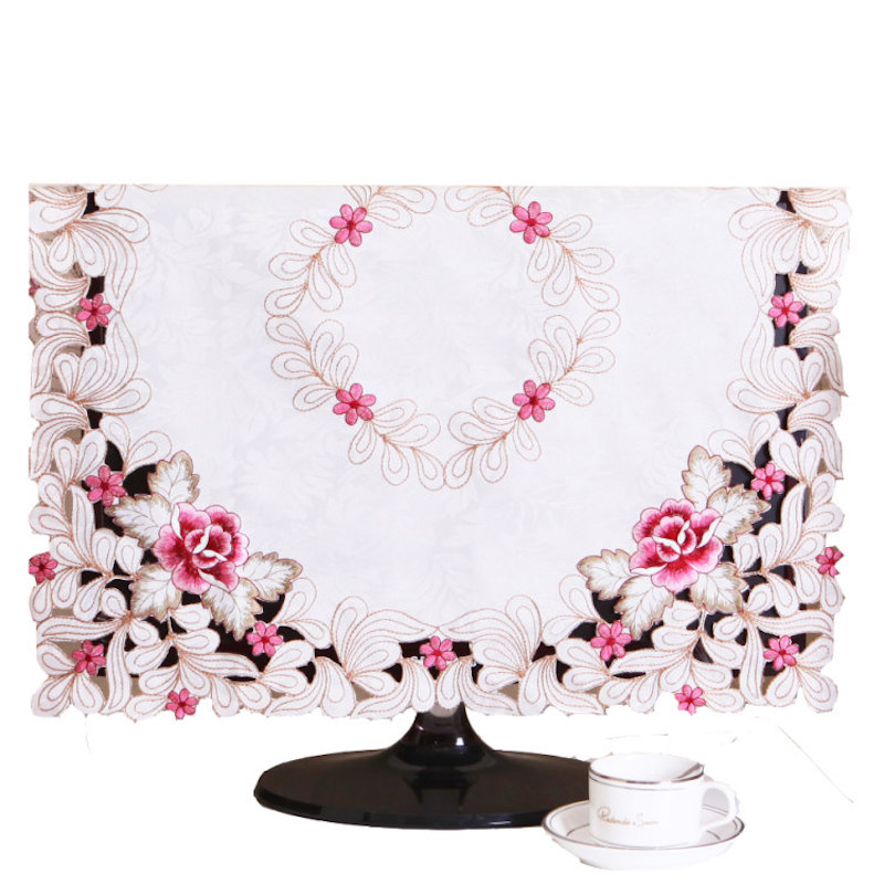 """19""""- 75"""" inch TV Dust Cover Decorative Hood Curtain Decor Square 40 55 80 105 128 145 170cm for Flat Screen HD LED LCD PLASMA PC(China (Mainland))"""