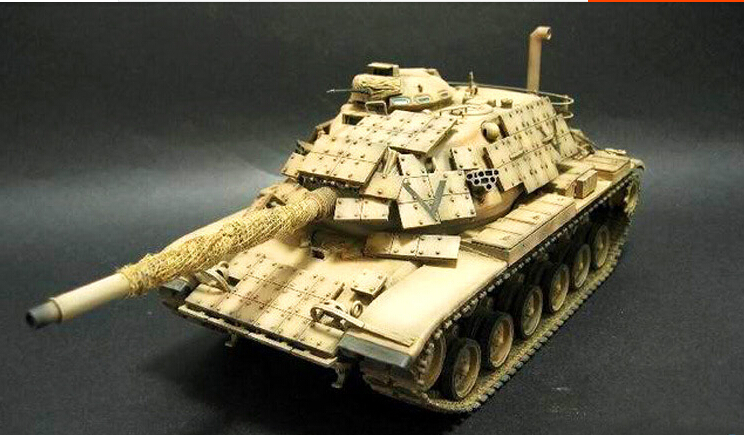 Tank model hobby 1/35 US Army M60 A1 tanks model Educational Kids best gift(China (Mainland))