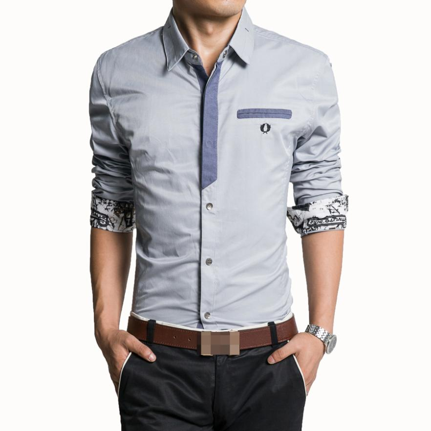 Camisas hombre 2015 for In style mens shirts