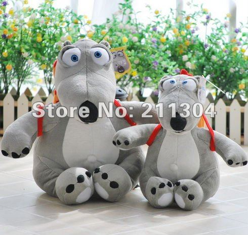 Middle size 16'' tall Free Shipping Plush Toy Original Quality the most funny bear stuffed animals cute toys friends kids gifts(China (Mainland))