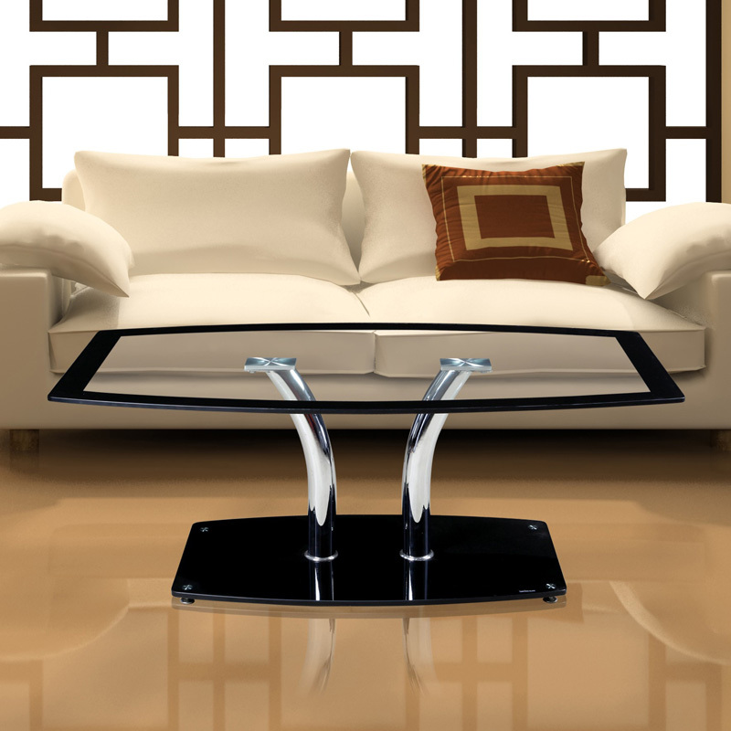 Creative ikea coffee table glass coffee table sofa living room furniture side tables transparent Ikea coffee tables and end tables