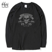 Buy HanHent Crossfit Skull T Shirts Men 2016 Novelty Tops Tees Bodybuilding T-Shirt Fitness Sportswear Swag Cotton Tshirt workout for $9.81 in AliExpress store