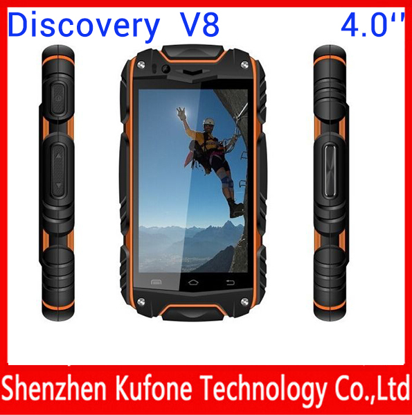 4.0'' V8 Android 4.2 MTK6582 Quad Core Capacitive Screen Smart Waterproof Phone WIFI Dual Camera GSM+WCDMA Dual Sim(China (Mainland))
