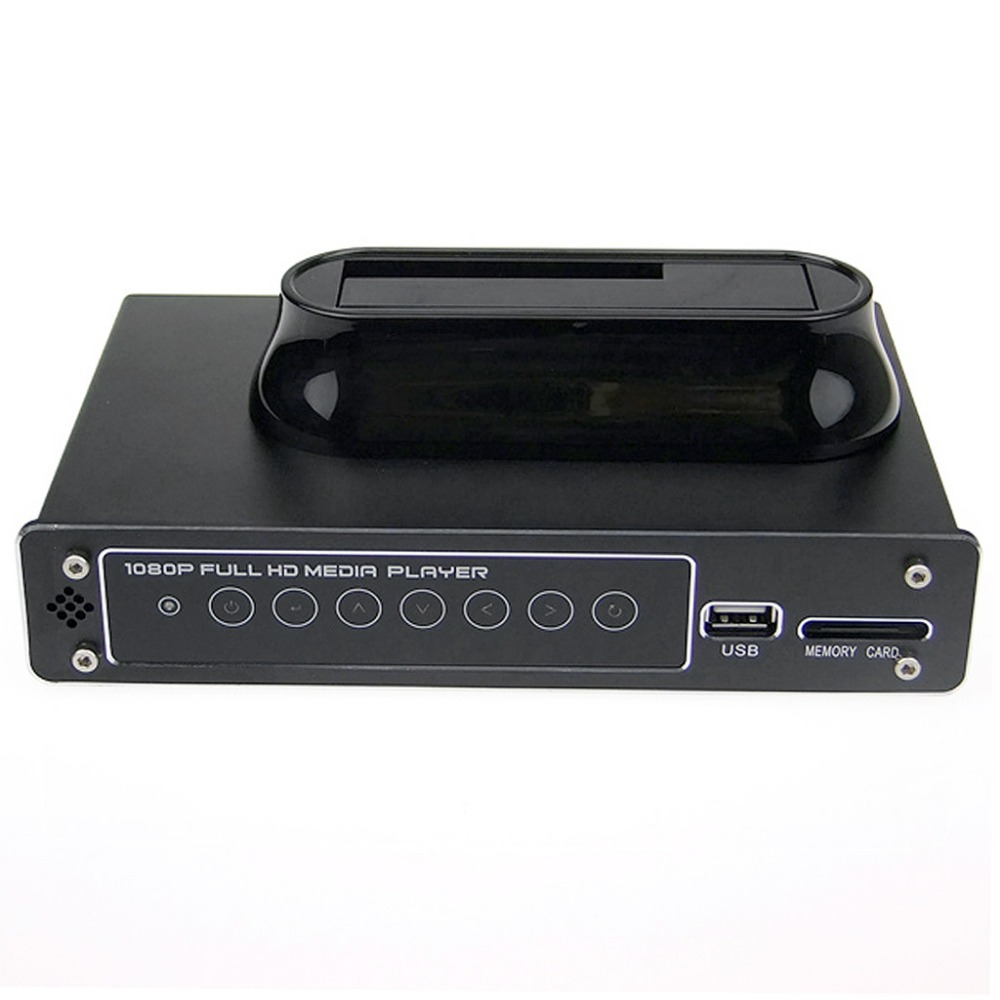 "1080P RM/RMVB/AVI/MPEG4 Media Player for 2.5""/3.5"" SATA HDD with USB Host and SDHC(China (Mainland))"