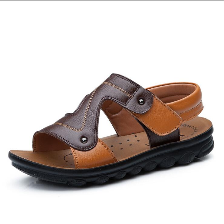 Brand Children Genuine Leather Sandals Kids Summer Shoes ...