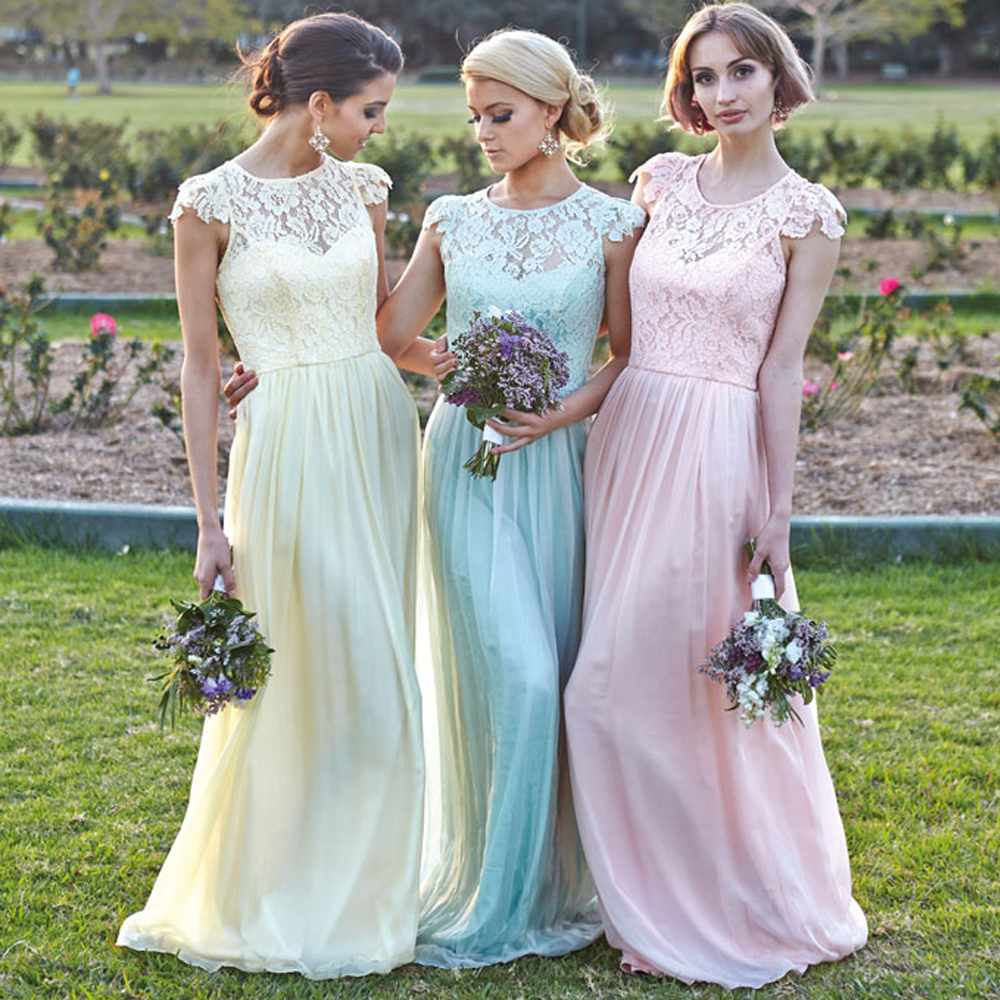 Mint And Pink Bridesmaid Dresses | Wedding Gallery