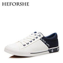 HEFORSHE Men Canvas Shoes 2017 Men's Fashion Splicing Lace-up Casual Shoes Male Spring Breathable Flat Shoes Size 39-44 MXF026(China (Mainland))
