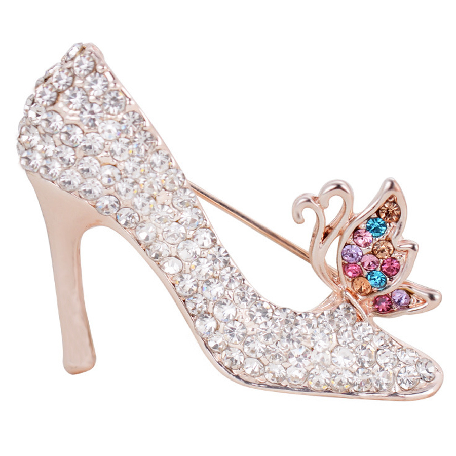 Ladies Shoe Brooches