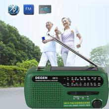 Buy Emergency Hand Crank Dynamo Solar FM/MW/SW Radio Portable mini Radio Outdoor FM radio Flashlight Mobile Phone Charger for $23.29 in AliExpress store