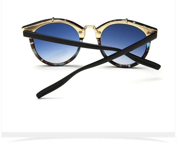 2016 Classic Brand Designer Sunglasses Women Men Retro Round Sun Glasses Woman shades Mirror Eyewear Lady Male Female Sunglass (28)