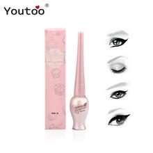 BY NANDA Colorful and Black Liquid Eyeliner Waterproof Liquid Eye Liner Pencil Cosmetics Long Lasting Matte Eyeliners Makeup 8g(China (Mainland))
