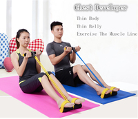 Sit-ups Equipment Fitness Household Motion Chest Developer To Reduce Weight Thin Waist Motion Fitness Down To Pull On The Rope