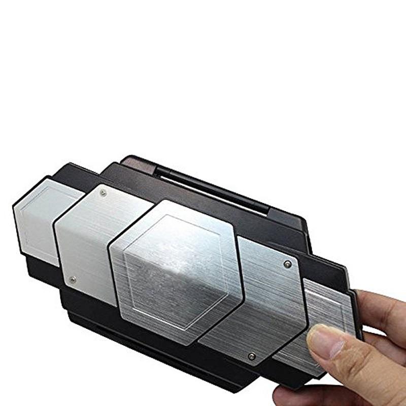 1pcs New Fashion Metal Aluminum Steel Armor Bag For Playstation PS Vita PSV 1000 Case Protective Shell VCX04 T13 0.3