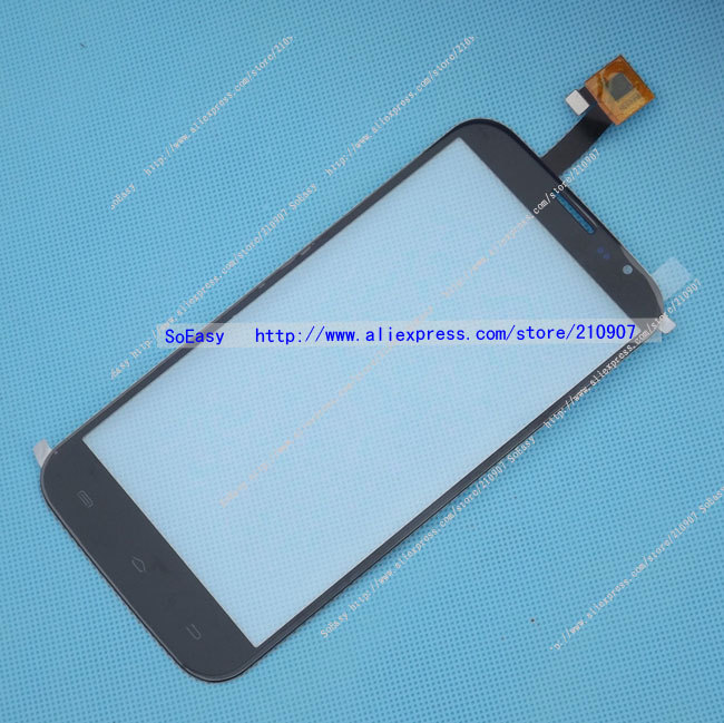 6inch Q6000 Front Panel Touch Glass Lens Digitizer Screen Original Parts FREE SHIPPING(China (Mainland))