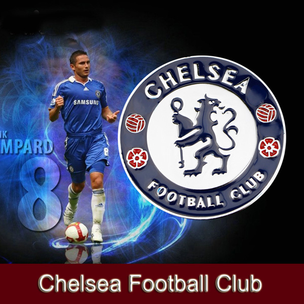 1x Universal Car Auto Styling 3D Chelsea Football Club Logo Symbol Metal Alloy Emblem Badge Sticker (0169)(China (Mainland))
