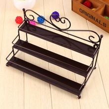 3 Tier Metal Heart Nail Polish Display Wall Rack