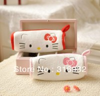 Retail Hello kitty plush pencil case,super cute and soft feeling, 1pc