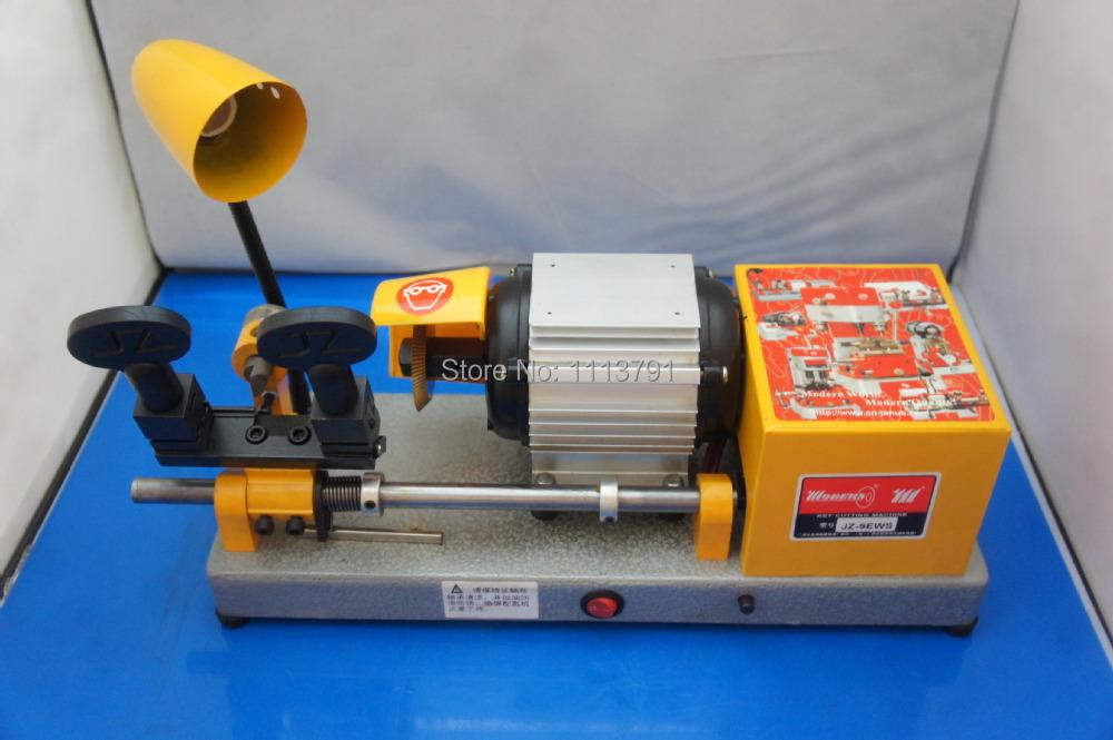 JZ-9EWS automatic horizontal Key Duplicating machine Door Lock Key Cutting Machine Locksmith Equipment(China (Mainland))