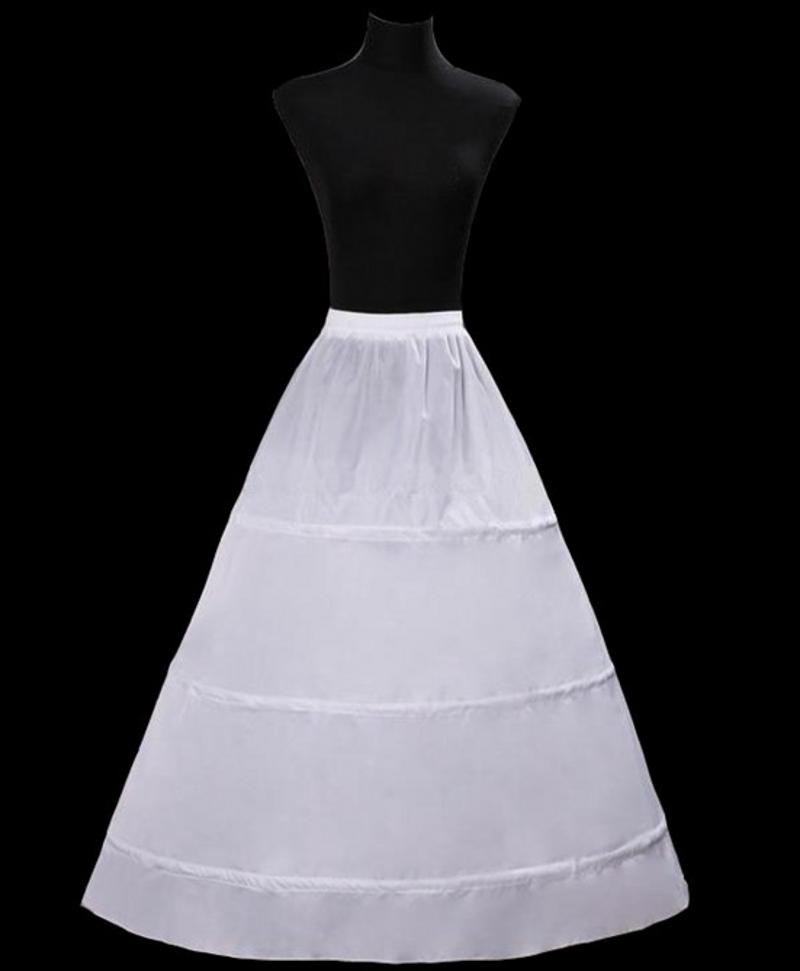 3 cerceaux jupon pour robe de marie femmes une ligne jupon de marie crinoline jupon - Jupon Mariage 1 Cerceau Pas Cher