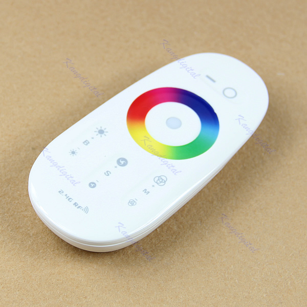"""M112""""2.4G Touch Screen Dimmable LED RGB Remote Wireless RF Controller For Light StripFree Shipping wholesale/retail(China (Mainland))"""