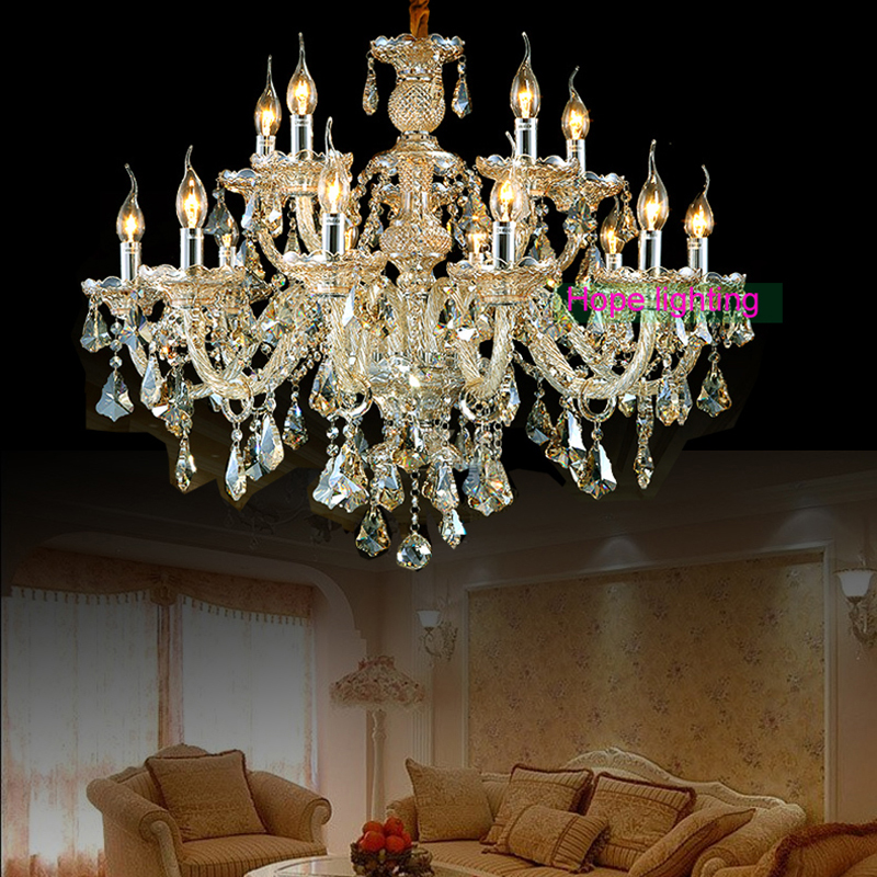 Chandeliers large chandelier lighting top k9 crystal for Popular dining room chandeliers