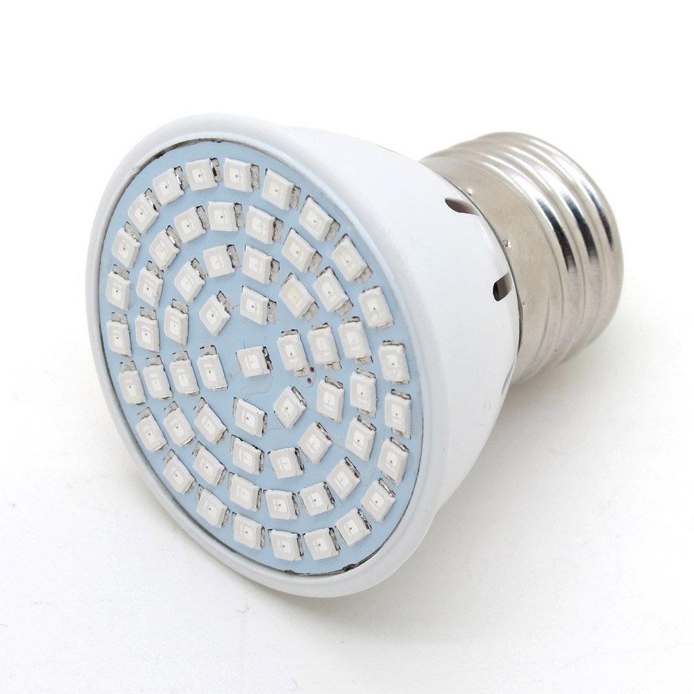 LED Grow E27 12W Bulb Light AC 220V Full Spectrum 60SMD Indoor Plants Lamp For Flower Seedling Hydroponic System Tent(China (Mainland))