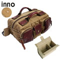 Photography Waist Packs with Paitition Padded Canvas DSLR Digital Photo Camera Waist Packs Waist Bag for