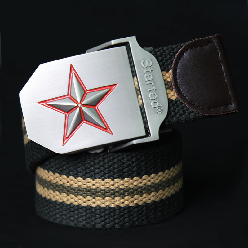 Canvas belt male strap casual personality fashion waist belt Men ultra long lengthen cloth 160cm(China (Mainland))