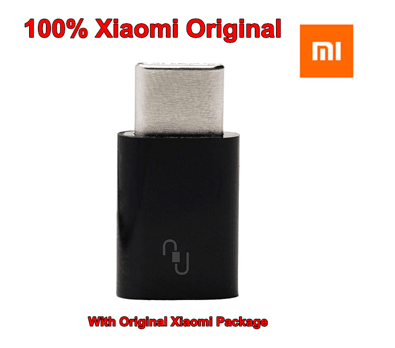 100% Original for Xiaomi Convertor Micro USB Female to USB 3.1 Type-C Male Cable Convertor Connector Fast Data Sync Transferring(China (Mainland))