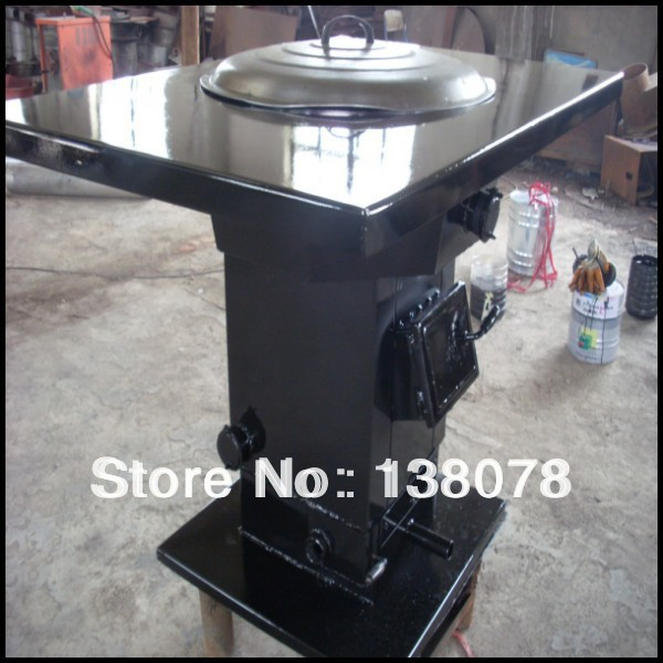 Low power wood pellet cooking stove solar