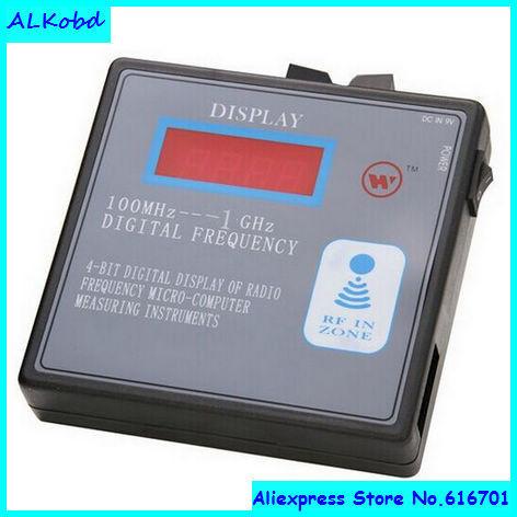 Alkobd 100 mhz - 1000 mhz RF télécommande radio émetteur indicateur RF système de contrôle radio fréquence scanner compteur(China (Mainland))