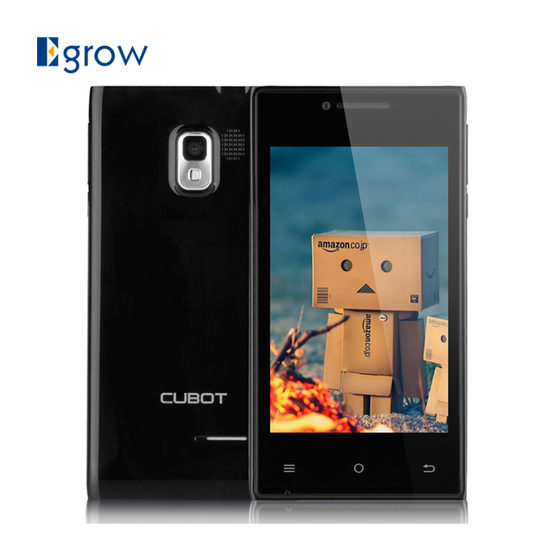 Original CUBOT GT72+ 4.0inch Android 4.4.2 Cellphone MTK6572 Dual Core 1.2GHZ Mobile Phone 2G/3G Band Multi Language Smartphone(China (Mainland))