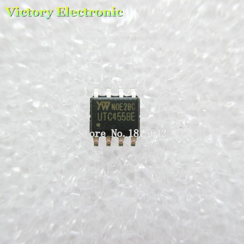 20 Шт./лот 4558D JRC4558D jrc4558 SMD SOP-8 Операционный Усилитель Оптовая Продажа Электронных Новый gr8876a gr8876 sop 8