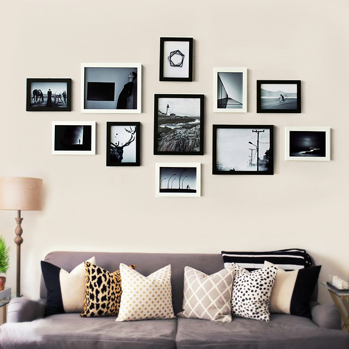 Living Room Decor Sweet Family Happiness Collection Wooden Frame Wall Sets We