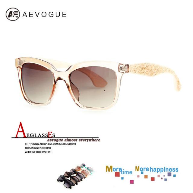 Aevogue солнечные очки женщины горный хрусталь рама на открытом воздухе очки солнцезащитные очки 20 шт. / lot UV400 AE0200