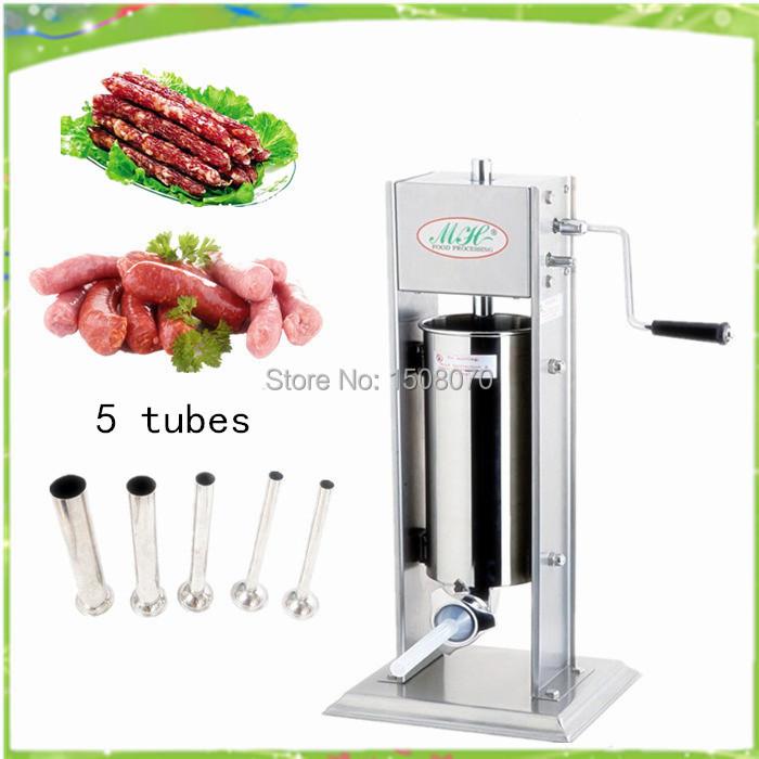 Livraison gratuite - 5L la main fabricant de saucisses, Saucisses machine de remplissage, Manuel saucisses remplissage(China (Mainland))