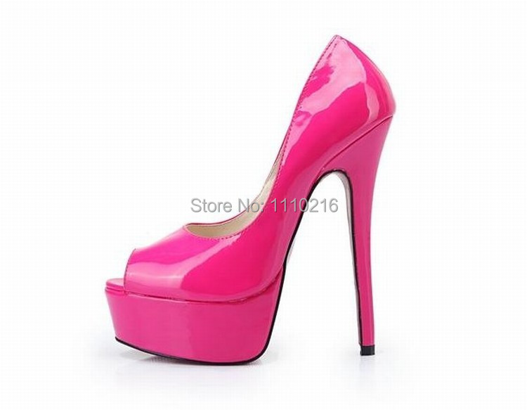 size 40 -48 new sexy open toe high heels fashion peep toe pumps women platform high-heeled shoes party wedding dress woman shoes