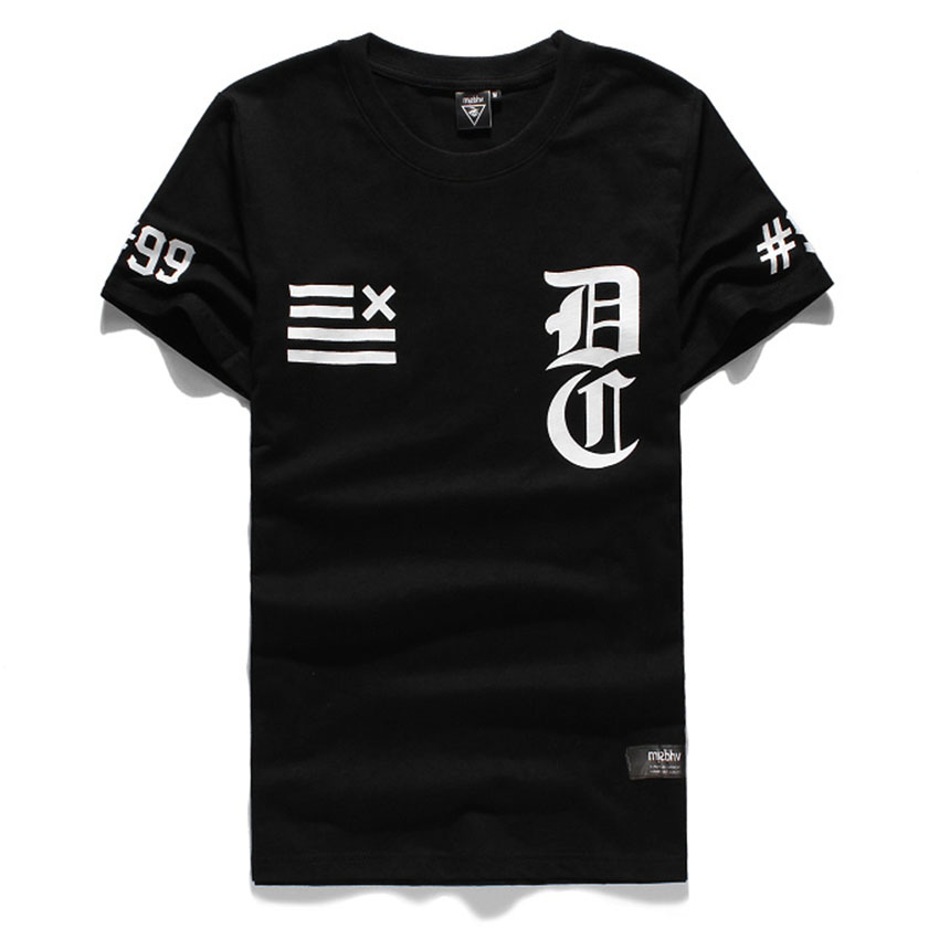 Fashion Top male mens clothing spring summer baseball dj CHEF 99 print clothes o-neck design skateboard short sleeve T-shirt - Hiphop Dance's Club store