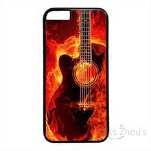 For iphone 4/4s 5/5s 5c SE 6/6s plus ipod touch 4/5/6 back skins mobile cellphone cases cover New Guitar Stings Art Music Design