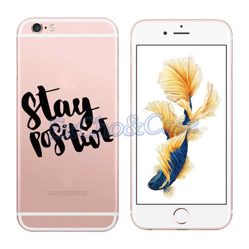 New Portuguese Words Love Amor Design Transparent Hard PC Silicon Phone Case Back Cover For iPhone 5 5s SE 6 6s/plus Case Coque