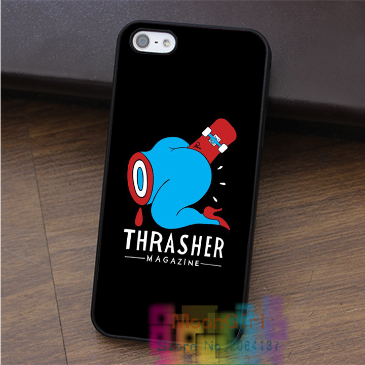 thrasher fashion cell phone case for iphone 4 4s 5 5s 5c SE 6 6s & 6 plus & 6s plus #qx1029(China (Mainland))