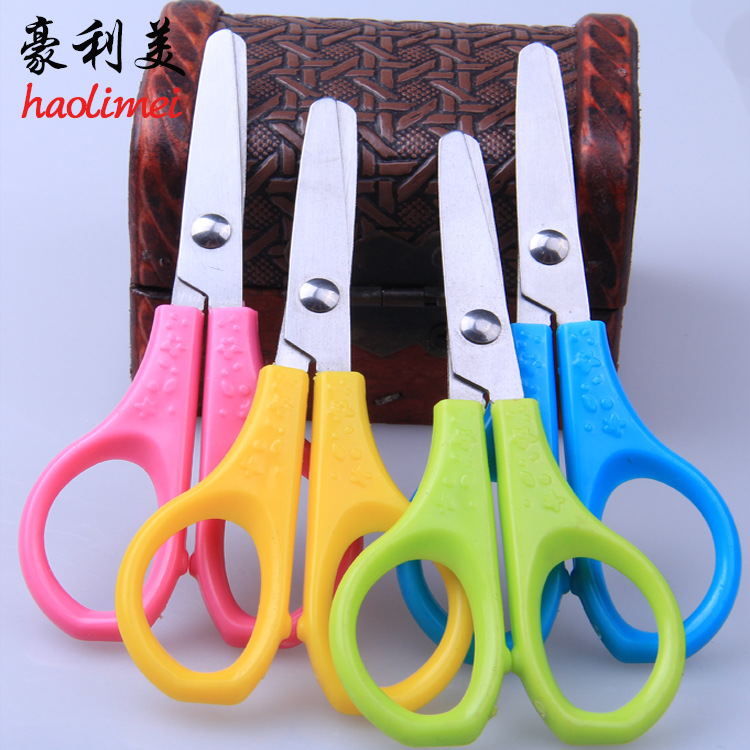 2 Pcs Good Use DIY Plastic Decorative Craft Enfant School Scissors for Paper Cutter Scrapbooking korea Stationery JL*JJ0109*50<br><br>Aliexpress
