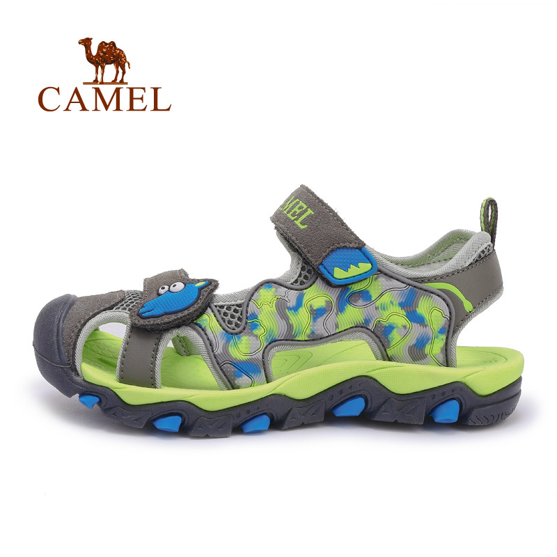 CAMEL Camel outdoor children's sandals 2015 new models teen crash skid beach sandals Baotou(China (Mainland))