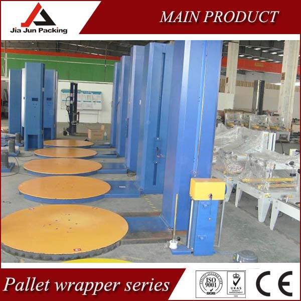 High Quality Manual stretch wrapped machines with SIEMENS eletric parts(China (Mainland))