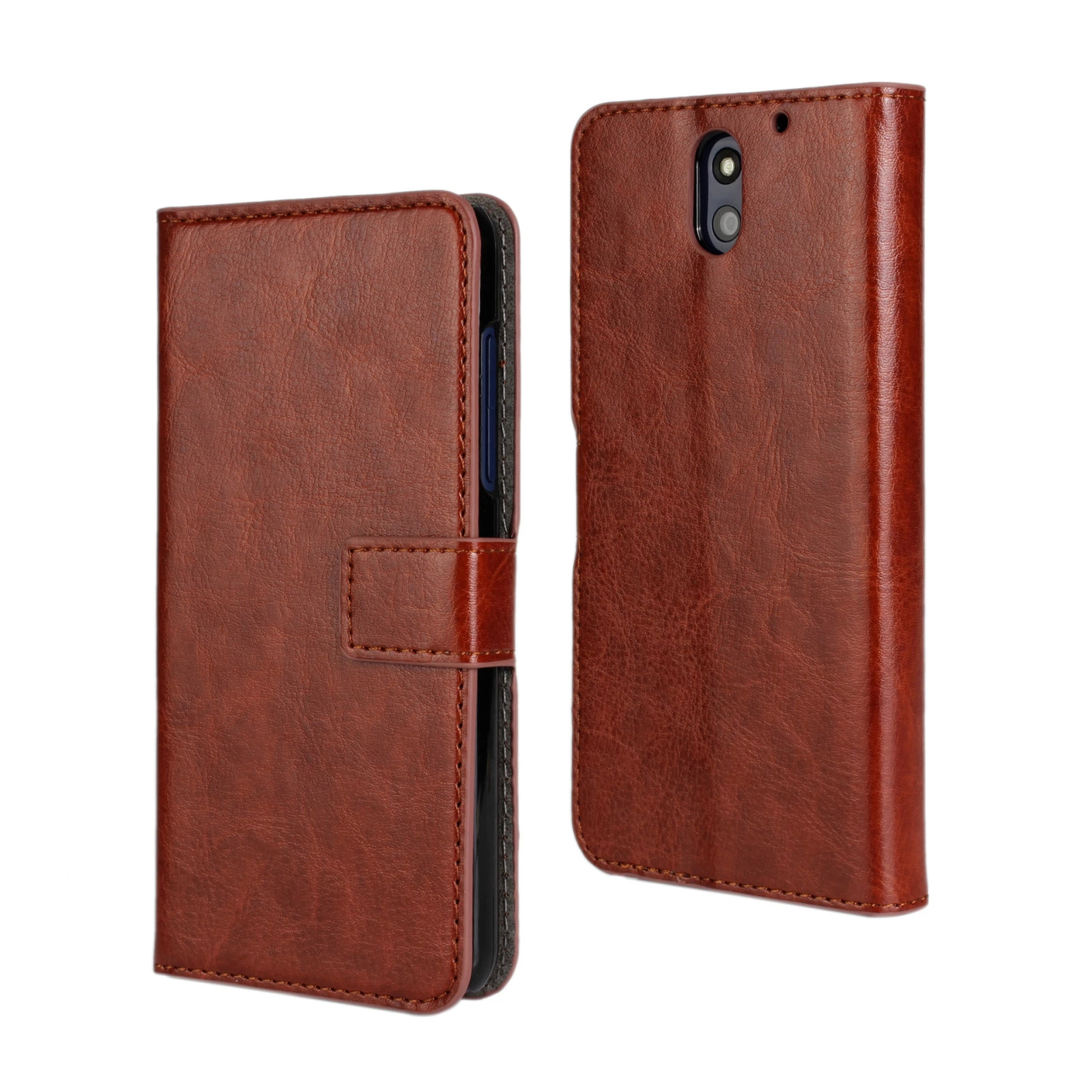 For HTC Desire 610 Cover Case Wallet Leather Book Purse Mobile Phone Shell Pouch Bag Coque Fundas Case Cover For HTC Desire 610(China (Mainland))